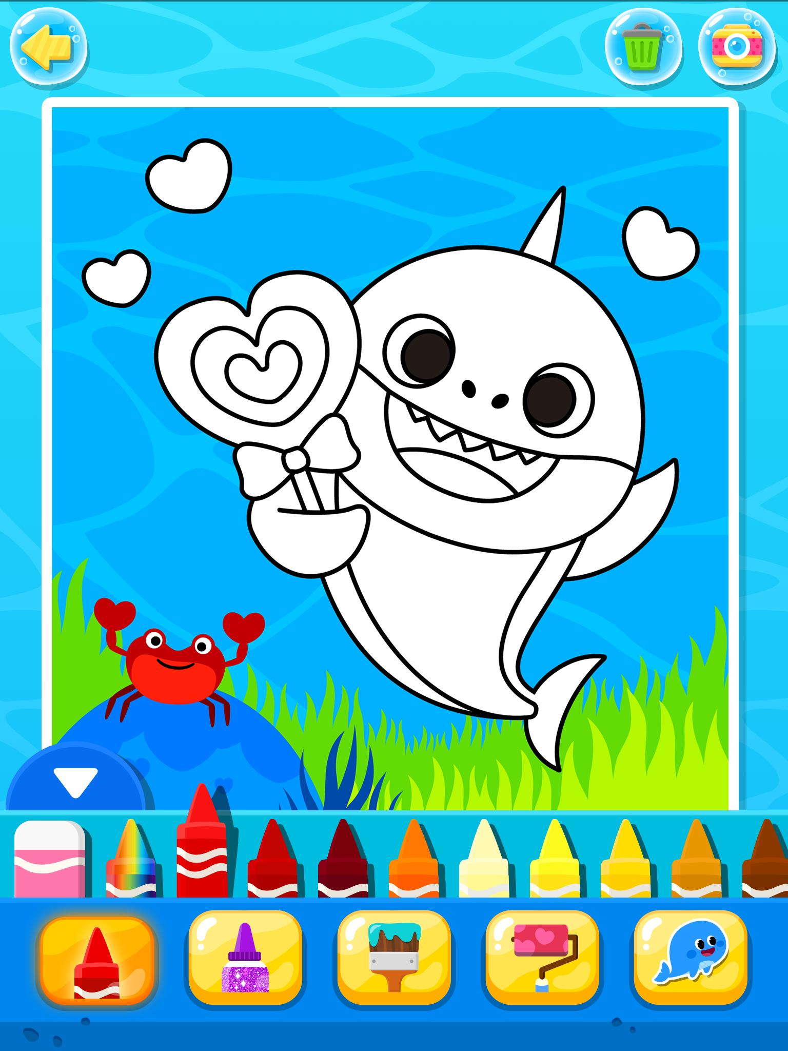 Pinkfong Baby Shark Coloring Book for Android - APK Download