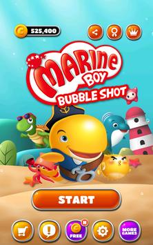 Marine Boy: Bubble Shot screenshot 7