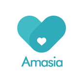 Love is borderless.Meet your true one on Amasia icon