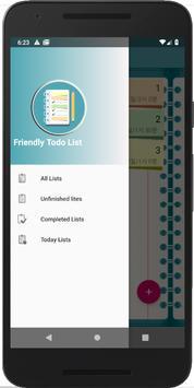 할일 목록,투두 리스트,Friendly Todo List, 할일 메모,달력,달력 메모 capture d'écran 5
