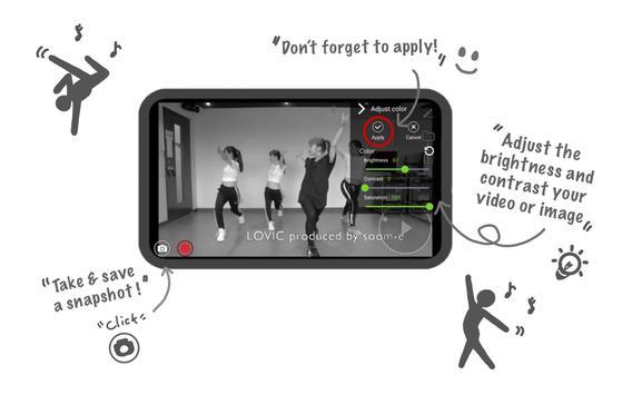 بطيئة الحركة ومشغل (الرياضة والرقص) !iCLOO تصوير الشاشة 5
