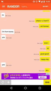 Chat with Stranger (Random Chat) screenshot 1