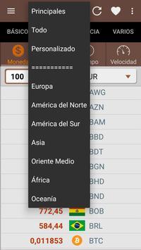 Convertidor de unidades captura de pantalla 2