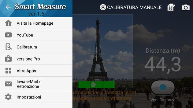 5 Schermata Telemetro : Smart Measure