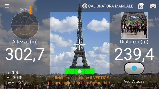 1 Schermata Telemetro : Smart Measure