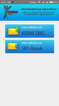 RSUD Kraton Registrasi SMS Rawat Jalan screenshot 1