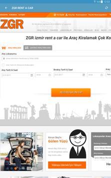 ZGR Rent a Car Mobil Uygulaması screenshot 3