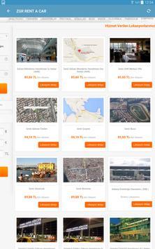 ZGR Rent a Car Mobil Uygulaması screenshot 11