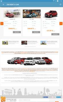 ZGR Rent a Car Mobil Uygulaması screenshot 8