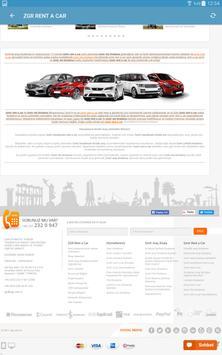 ZGR Rent a Car Mobil Uygulaması screenshot 9