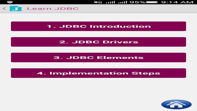 Java JDBC Tutorials for Android - APK Download