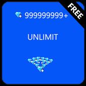 Diamonds💎FF Calc FREE icon