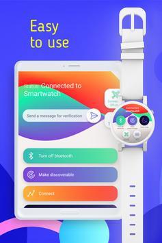 Smart Watch Sync Wear -Bluetooth Notifier(Wear OS) imagem de tela 9
