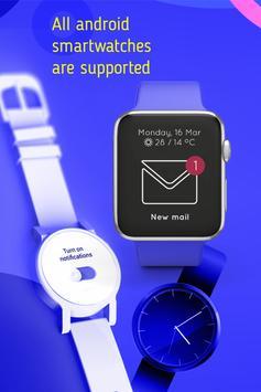 Smart Watch Sync Wear -Bluetooth Notifier(Wear OS) imagem de tela 12