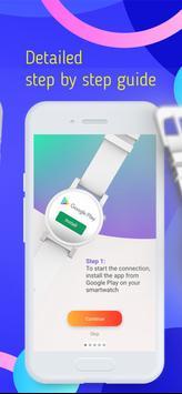 Smart Watch Sync Wear -Bluetooth Notifier(Wear OS) imagem de tela 6