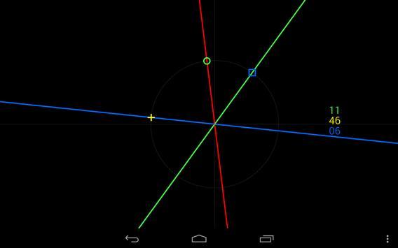 GeoMetric Clock Live Wallpaper screenshot 5
