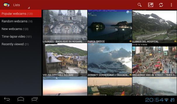 Worldscope Webcams screenshot 5