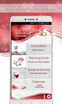 Wedding Countdown poster