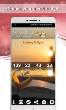 Wedding Countdown screenshot 1