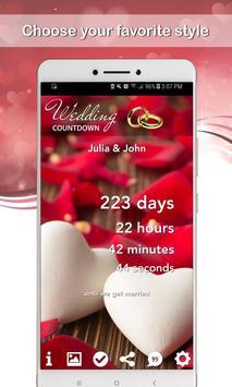 Wedding Countdown screenshot 2