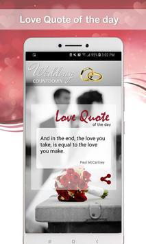 Wedding Countdown screenshot 5