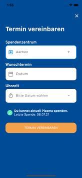 spenduru – Deine App zur Octapharma Plasmaspende Screenshot 3