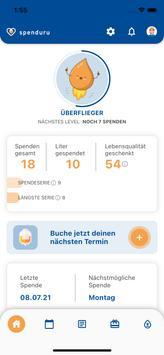 spenduru – Deine App zur Octapharma Plasmaspende Screenshot 1