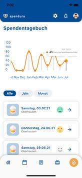 spenduru – Deine App zur Octapharma Plasmaspende Screenshot 5