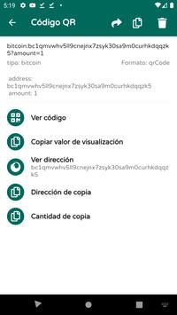 Lector de códigos QR y barras (español) - 2020 captura de pantalla 4
