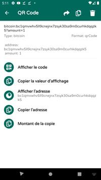 Scanner de codes QR & de codes-barres (français) capture d'écran 4