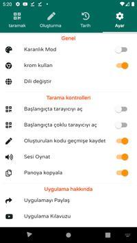 QR ve Barkod Okuyucu - 2020 modern bir QR kod Ekran Görüntüsü 7