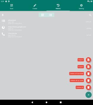 QR & Barcode Reader - QR & Barcode Scanner - 2020 스크린샷 14