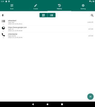 QR & Barcode Reader - QR & Barcode Scanner - 2020 스크린샷 10