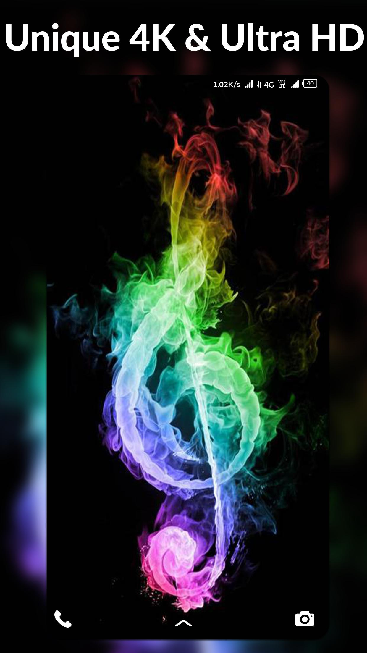 4k Music Wallpapers Auto Wallpaper Changer For Android Apk Download
