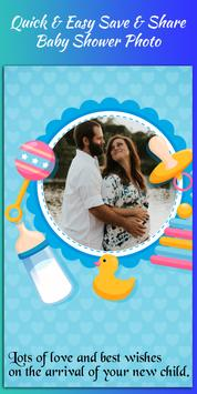 Baby Shower Photo Editor poster