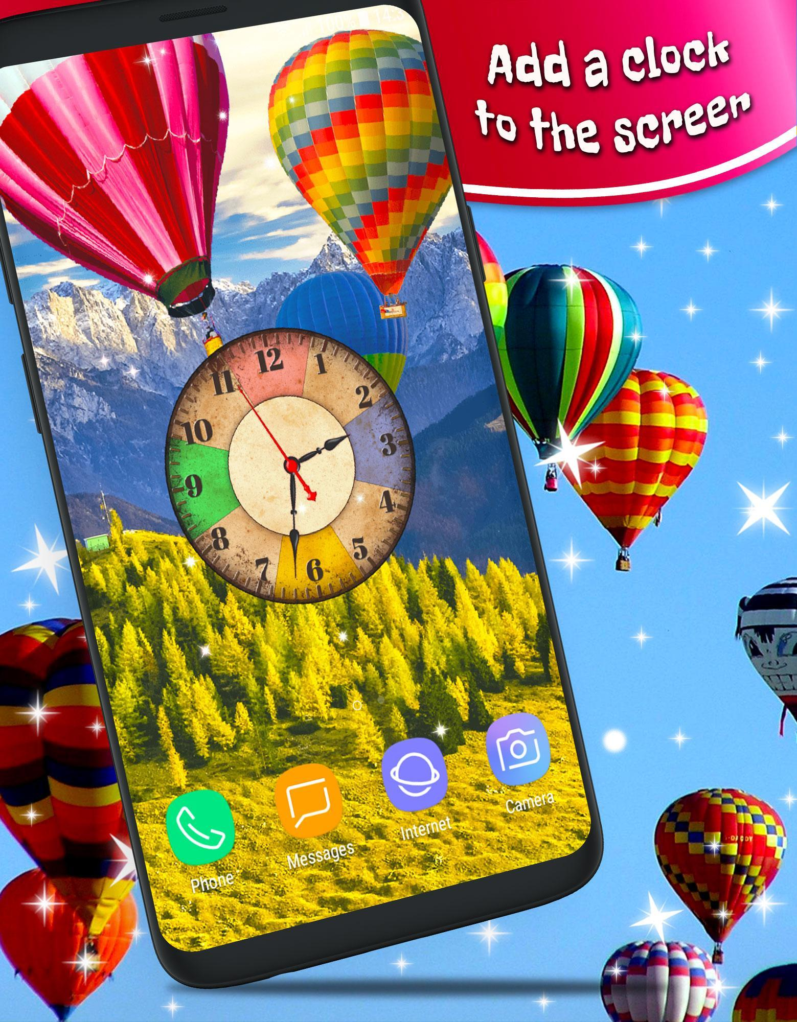 Hot Air Balloon Parallax 3d Live Wallpaper Hd For Android