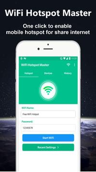 WiFi Hotspot Master - Powerful Mobile Hotspot poster