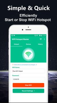 WiFi Hotspot Master - Powerful Mobile Hotspot screenshot 1
