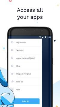 Hotspot Shield imagem de tela 3