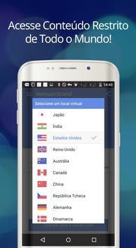 Hotspot Shield Grátis VPN Proxy & Segurança WiFi imagem de tela 12