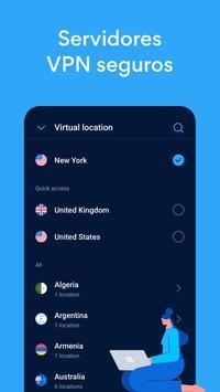 Hotspot Shield Grátis VPN Proxy & Segurança WiFi imagem de tela 2