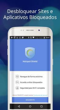 Hotspot Shield Grátis VPN Proxy & Segurança WiFi imagem de tela 5