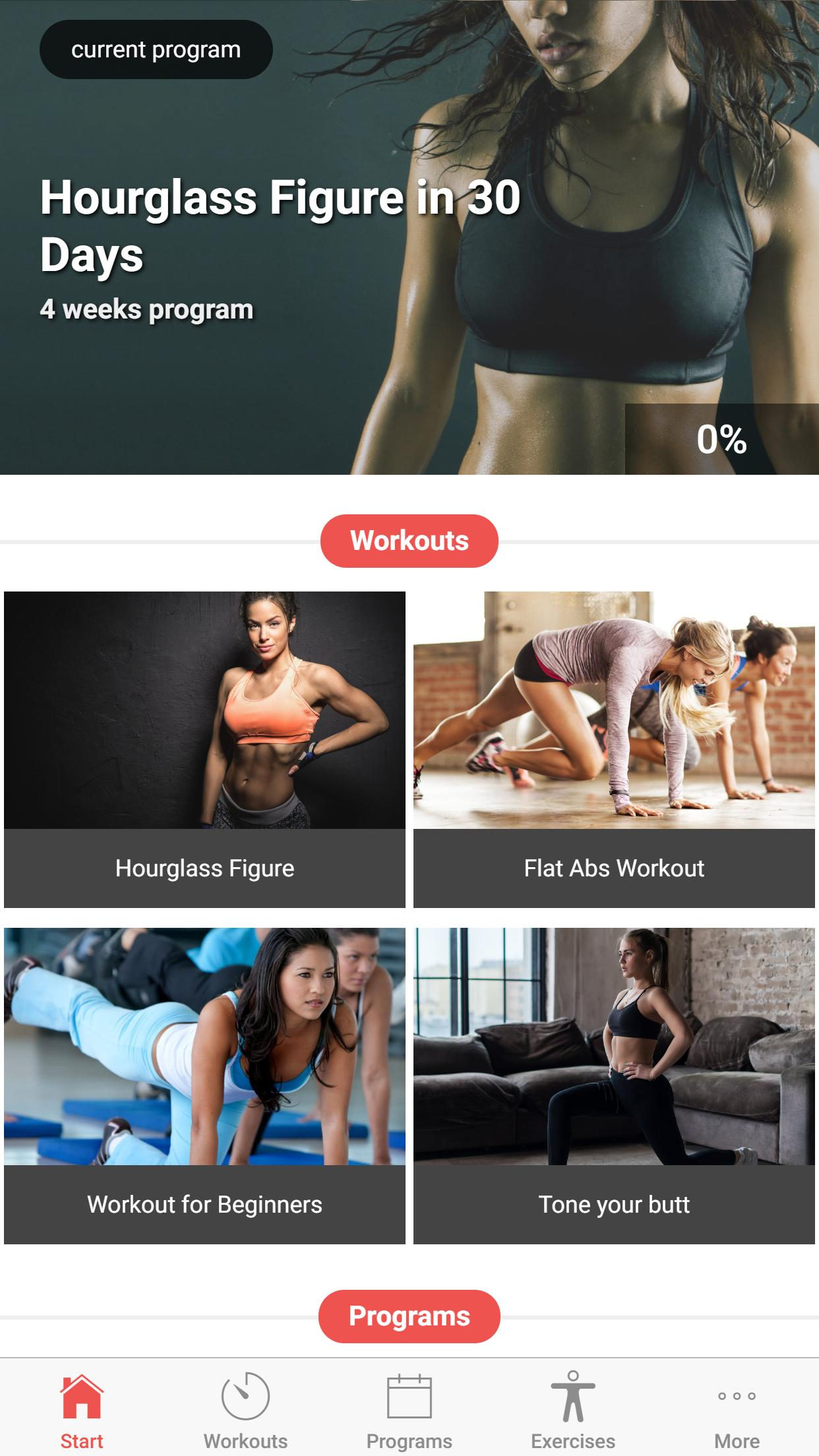 30 Day Hourglass Figure Workout for Android - APK Download