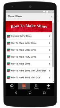 How To Make Slime screenshot 1