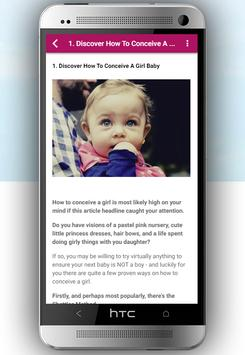 How to Conceive Baby Girl screenshot 3