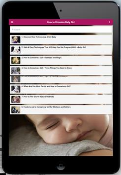 How to Conceive Baby Girl screenshot 4