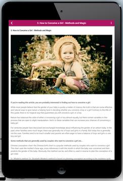 How to Conceive Baby Girl screenshot 6