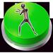 Howard The Alien Button