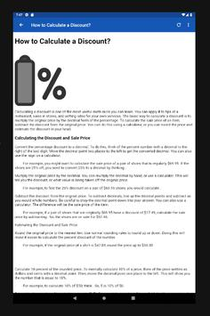 How To Calculate Percentages screenshot 5