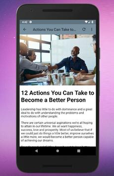 How To Be a Better Person screenshot 2